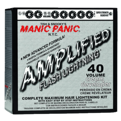 MANIC PANIC FLASHLIGHTNING Bleach Kit - 40 Volume (12%)
