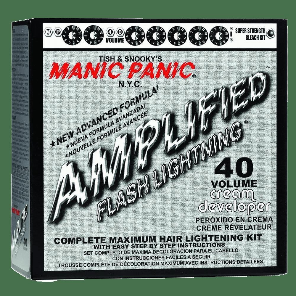 MANIC PANIC FLASHLIGHTNING Bleach Kit - 40 Volume (12%)