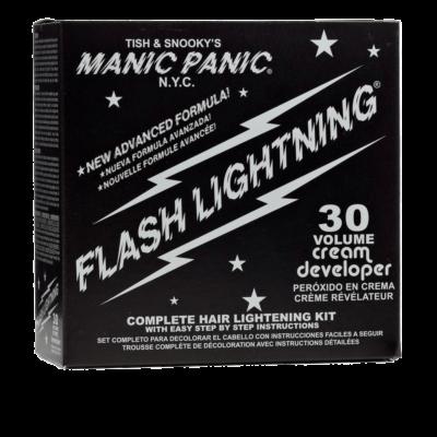 MANIC PANIC FLASHLIGHTNING Bleach Kit - 30 Volume (9%)