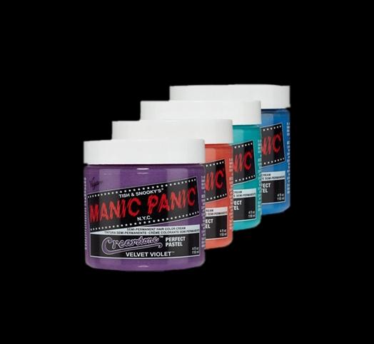 manic panic линейка creamtones