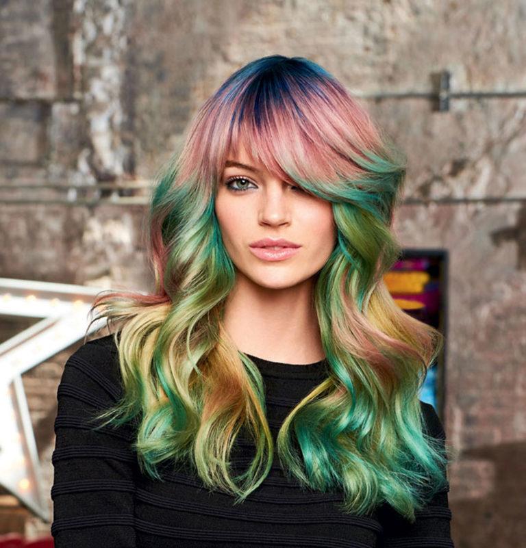 Модное окрашивание волос в 2020 году