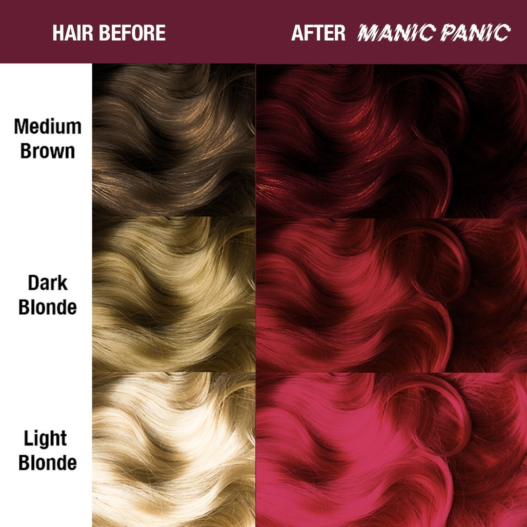 MANIC PANIC Amplified Vampire Red